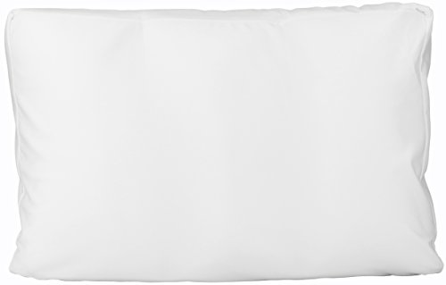 Deluxe Comfort Microbead Cloud Bed-Pillows, Medium, White