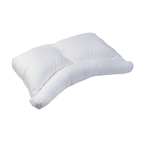 HealthSmart Side Sleeper Pillow with Curved Center Lobe