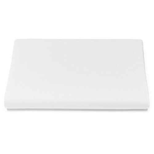 Kassatex Catena Bedding Collection Full Fitted Sheet, White