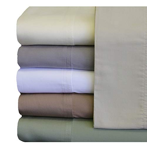 ABRIPEDIC Tencel Sheets, Silky Soft and Naturally Pure Fabric, 100% Woven...