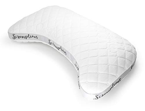 The Scrumptious Side Sleeper Pillow - Handmade in California, The Ultimate...