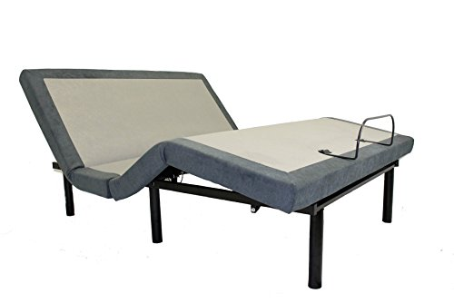 iDealBed 4i Adjustable Bed Base, Wireless, Head and Foot Articulation,...