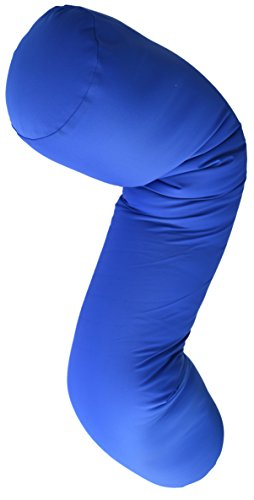Microbead Body Pillow with Silky Smooth Removable Cover; Extremely...
