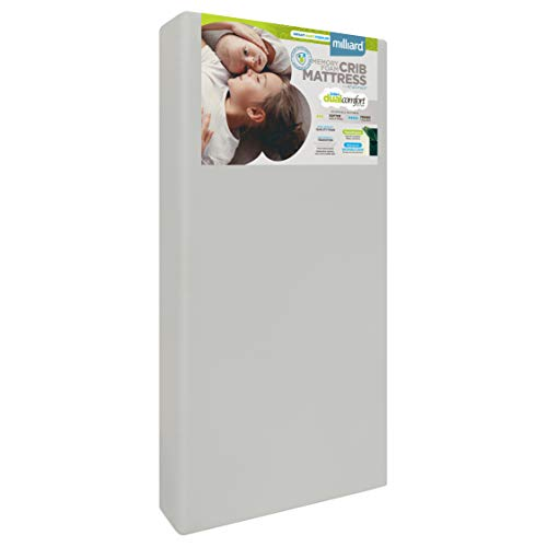 Milliard Crib Mattress, Flip Technology, Firm Side for Baby and Soft Side...