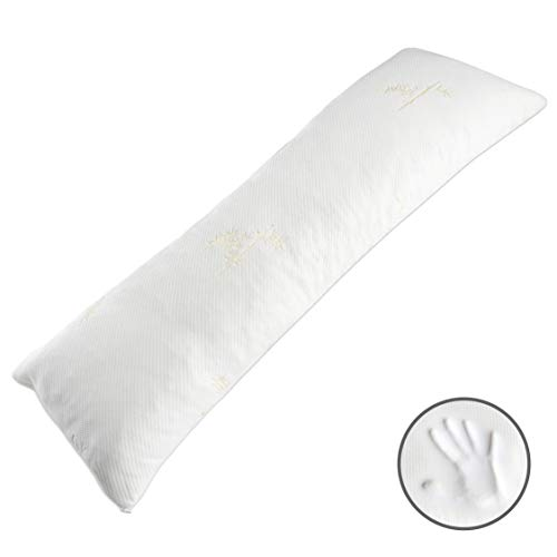 Milliard Body Pillow – with Shredded Memory Foam and Bamboo,...