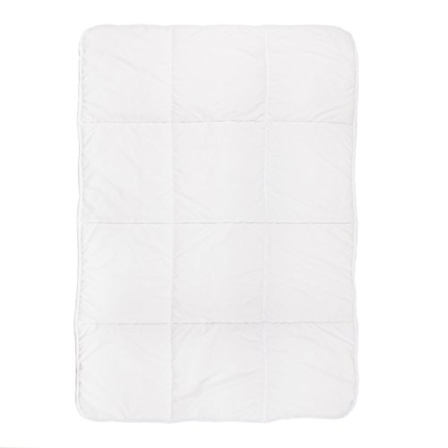 Tadpoles Toddler Comforter, Box Pattern/White