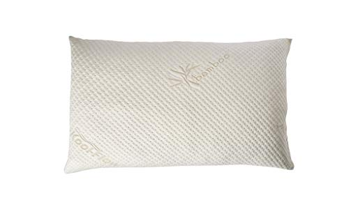 Snuggle-Pedic Toddler and Kids Pillow | Kool-Flow Ultra Luxury Bamboo Cover...