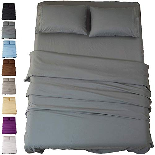 SONORO KATE Bed Sheet Set Super Soft Microfiber 1800 Thread Count Luxury...