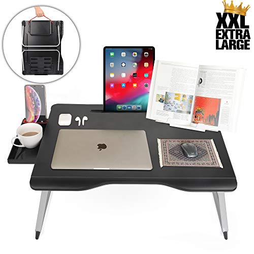 Cooper Mega Table [XXL Folding Laptop Desk] for Bed & Sofa | Couch Table,...