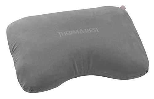 Therm-a-Rest Air Head Inflatable Travel Pillow (2019 Model), Grey