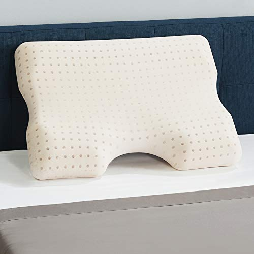 CopperFresh Advanced Contour Pillow by Sleep Studio, with Copper-Infused...
