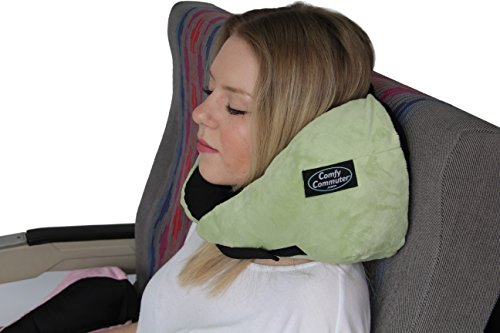 Comfy Commuter Basics Travel Pillow - Made in USA