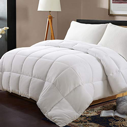 Edilly All Season Queen Size Soft Quilted Down Alternative Comforter Hotel...