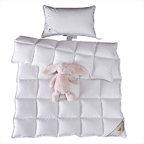 Toddler/Travel/Crib Goose Down Comforter Duvet/ Blanket...