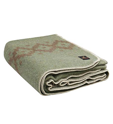 Thick Alpaca Wool Blanket Heavyweight Alpaca Wool Blanket Camping Outdoors...