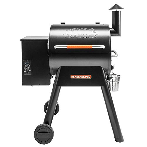 Traeger Grills TFB38TOD Renegade Pro Pellet Grill and Smoke 380 Sq. in....