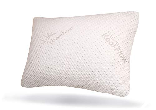 Snuggle-Pedic Original USA Made Ultra-Luxury Bamboo Shredded Memory Foam...