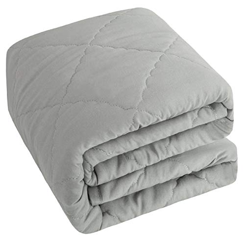 NTBAY Down Alternative Toddler Comforter, Lightweight and Warm Solid Color...