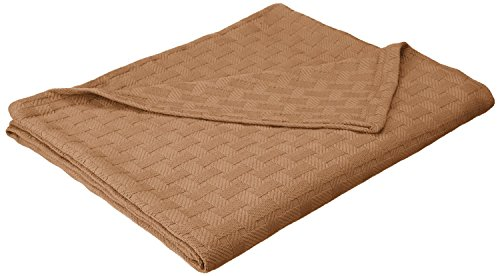 Superior 100% Cotton Thermal Blanket, Soft and Breathable Cotton for All...