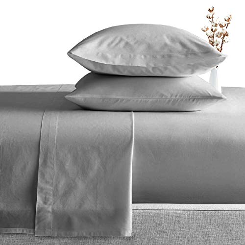 King Size Egyptian Cotton Sheets Luxury Soft 1000 Thread Count- Sheet Set...