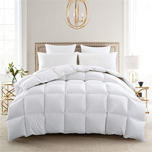 puredown Winter White Goose Down Comforter Luxury 800 Thread Count Down...