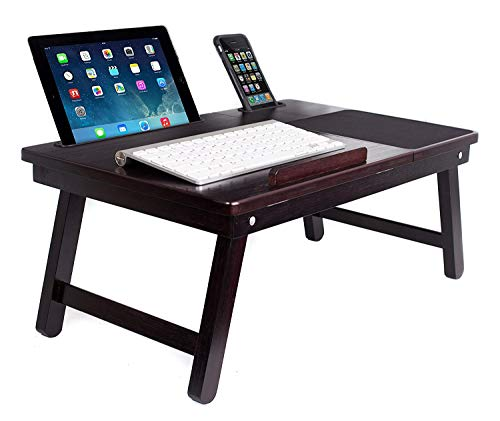 Sofia + Sam Multi Tasking Laptop Bed Tray | Lap Desk Supports Laptops Up to...