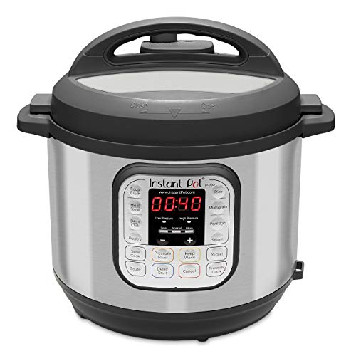Instant Pot Duo 7-in-1 Electric Pressure Cooker, Sterilizer, Slow Cooker,...