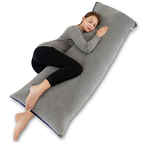 INSEN Full Body Pillow for Adults and Pregnancy, Large Long Body Pillows...