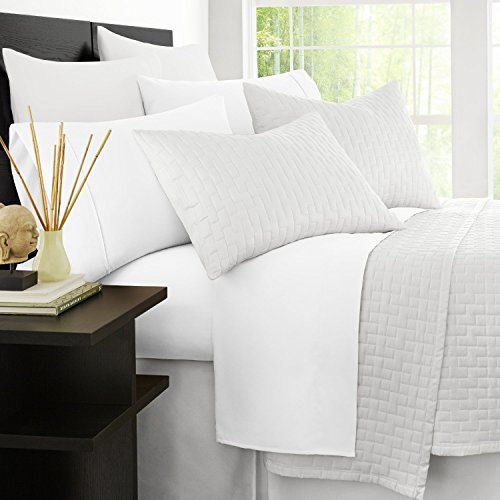 Zen Bamboo Luxury 1500 Series Bed Sheets - Eco-Friendly, Hypoallergenic and...