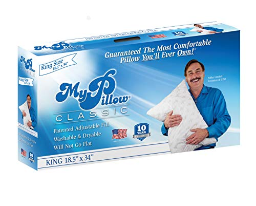 My Pillow Classic Series [King, Extra Firm Fill] Now Available in 4 Loft...