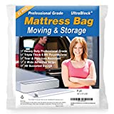 UltraBlock Mattress Bag for Moving, Storage or Disposal - Full Size Heavy...