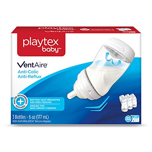 Playtex Baby VentAire Bottle, Helps Prevent Colic and Reflux, 9 Ounce...