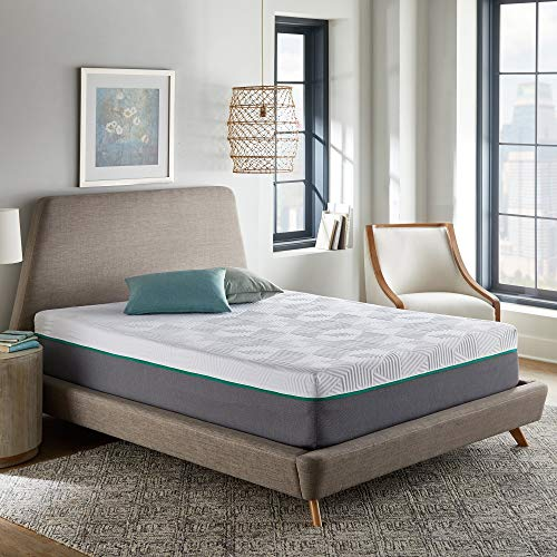 12 Inch Hybrid Mattress, Copper Infused Memory Foam and Innerspring,...