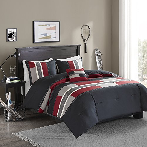 Comfort Spaces Pierre 3 Piece Comforter Set All Season Ultra Soft...