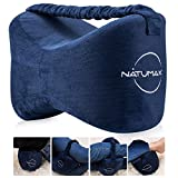 NATUMAX Knee Pillow for Side Sleepers - Sciatica Pain Relief - Back Pain,...