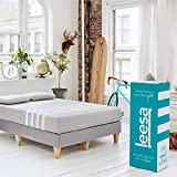 Leesa Original Bed-in-a-Box, Three Premium Foam Layers Mattress, King, Gray...