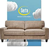 Serta Palisades Upholstered Sofas for Living Room Modern Design Couch,...