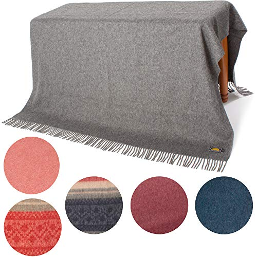 NOT AN Ecuadorian COUNTERFEIT - AUTHENTIC ALPACA Throw Blanket - COZINESS...