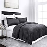 Sleep Restoration Micromink Goose Down Alternative Comforter Set - All...