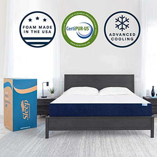 Sleep Innovations Marley 10-inch Cooling Gel Memory Foam Mattress Bed in a...