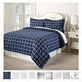 Great Bay Home Extra Soft Printed Flannel Duvet Cover with Button Closure....