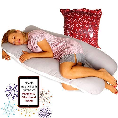 Pillow Capital Full Body Pregnancy Pillow – U Shaped Surgery Recovery...