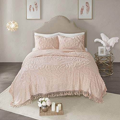 Madison Park Laetitia Lightweight, Breathable Chenille Tufted 100% Cotton...