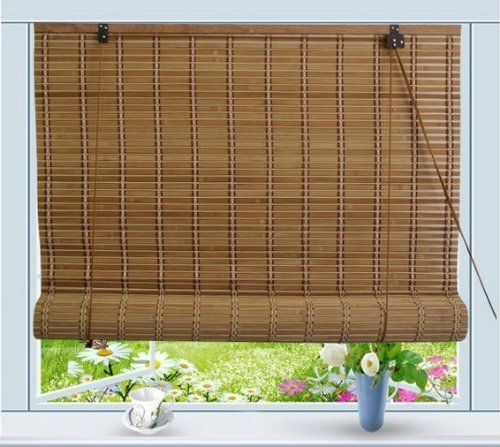 Thy Trading Bamboo Roll Up Window Blind Sun Shade W60 x H72