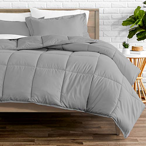 Bare Home Comforter Set - Queen Size - Goose Down Alternative - Ultra-Soft...