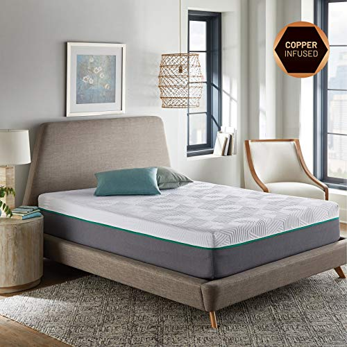 RENUE 12-Inch Hybrid Mattress, Copper & Gel Infused Memory Foam Cool Sleep,...