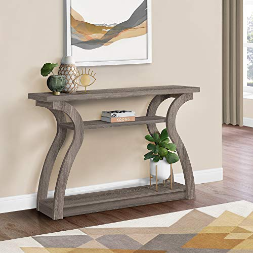 Monarch Specialties 47' Console Table - Sleek and Modern Accent Table for...