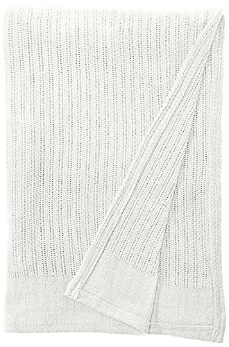 Fiesta Thermal Cotton Blanket, Full/Queen, White