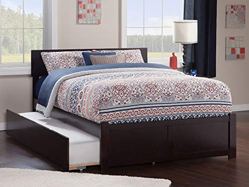 Atlantic Furniture Orlando Platform Bed with Flat Panel Footboard and Twin...