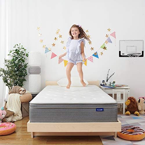 Sweetnight 10 Inch Full Size Mattress In a Box - Sleep Cooler with Euro...